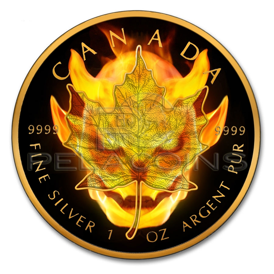 canada 2016 maple burning devil
