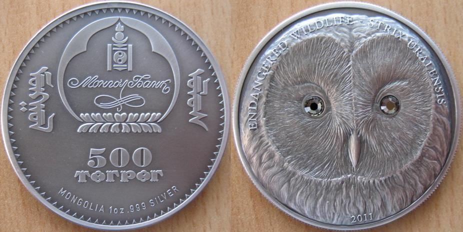 MONGOLIE 500 TOGROG 2011 - CHOUETTE DE L'OURAL