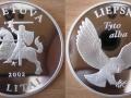 LITUANIE 5 LITAS 2002 - HIBOU
