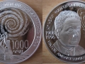 ARMENIE 1000 DRAM 2008 - VIKTOR AMBARTSUMIAN