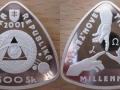 SLOVAQUIE 500 KORUN 2001 - MILLENNIUM