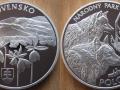 SLOVAQUIE 20 EURO 2010 - NARODNY PARC POLONINY