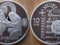 SLOVAQUIE 10 EURO 2011 - DOCUMENTS DE ZOBOR