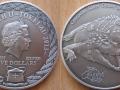 TOKELAU 5 DOLLARS 2013 - CROCODILE