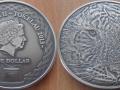 TOKELAU 1 DOLLARS 2013 - TIGRE D'ASIE