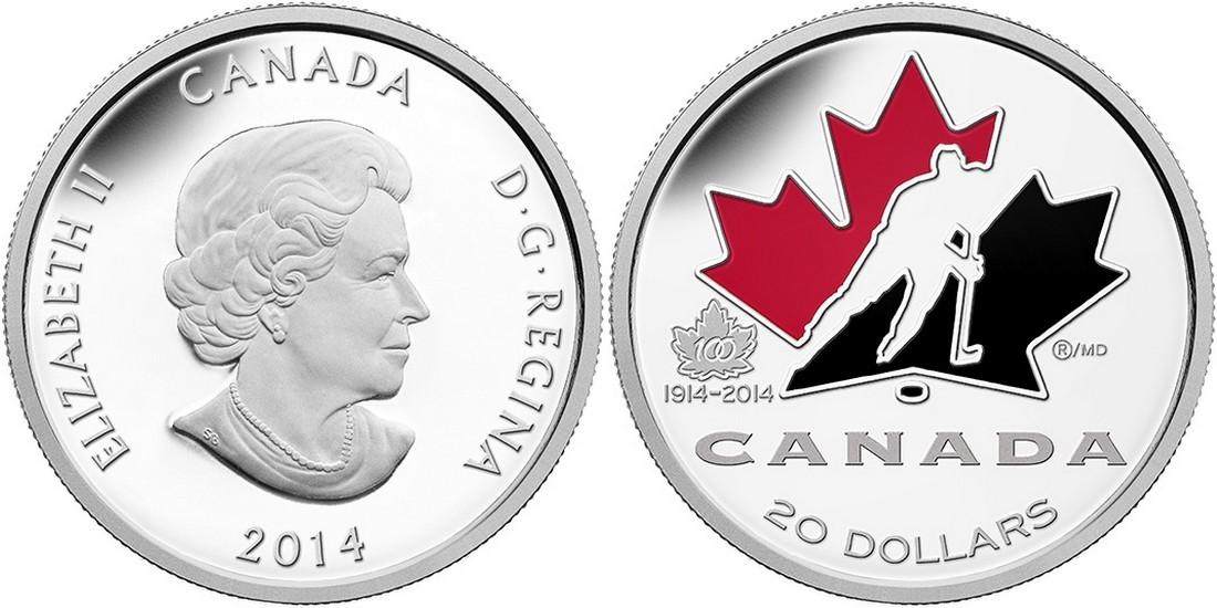 canada 2014 100 ans hockey canadien
