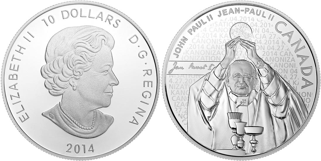 canada 2014 canonisation de jean paul II