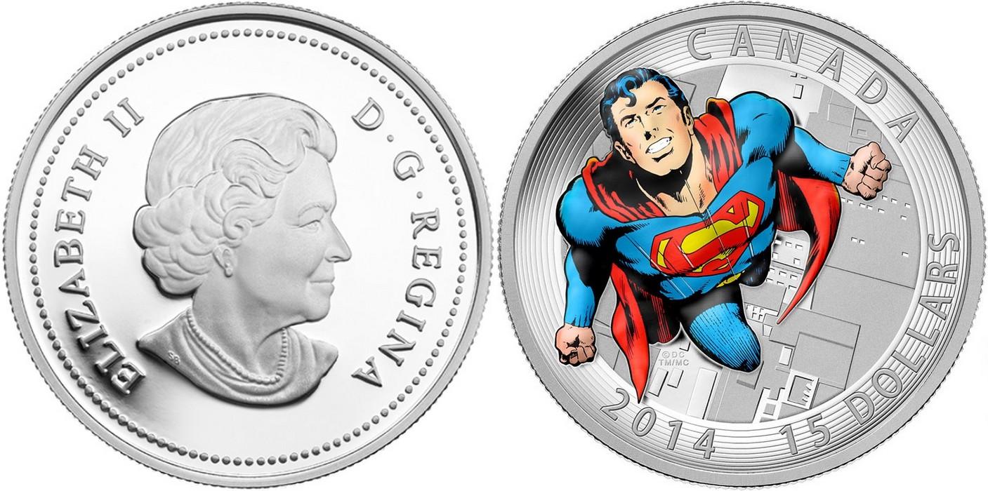 canada 2014 superman 15$