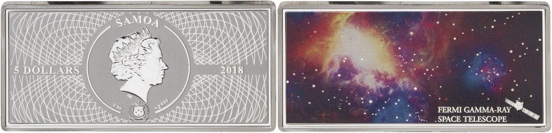 samoa 2018 espace fermi gamma-ray