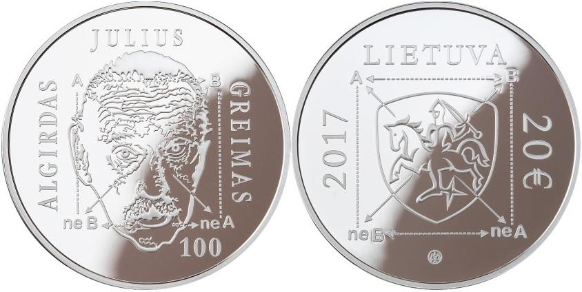 lituanie 2017 algirdas julius greimas