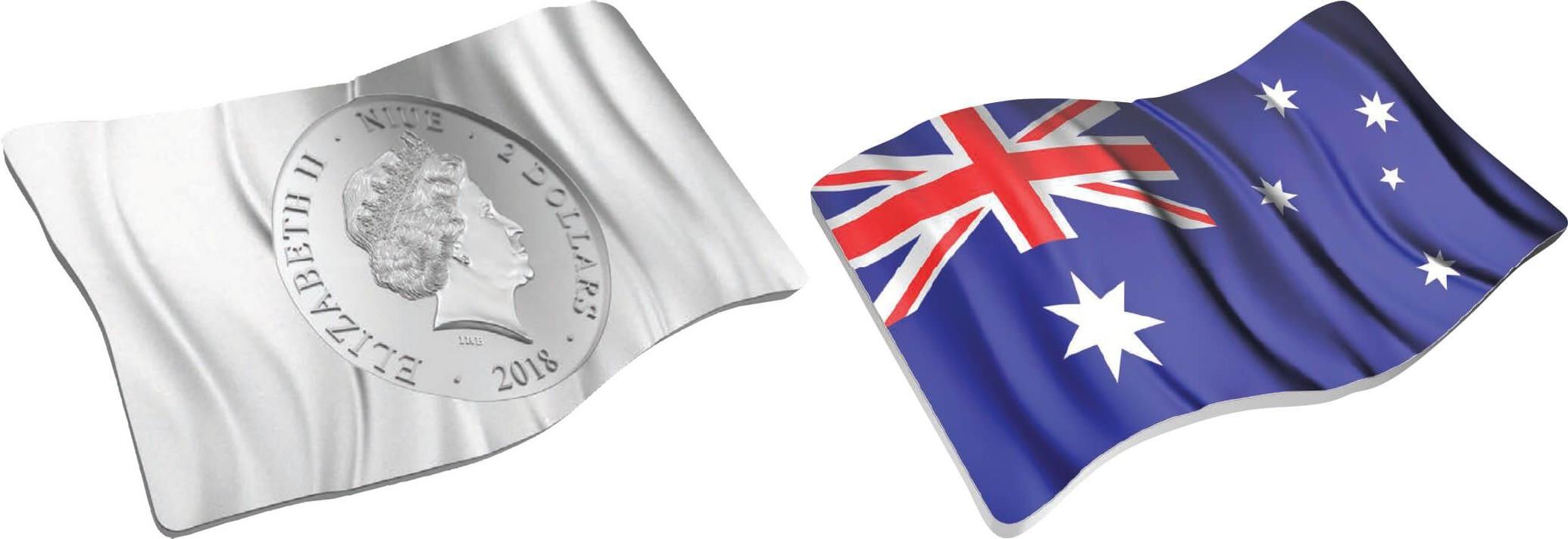 niue 2018 drapeau australien