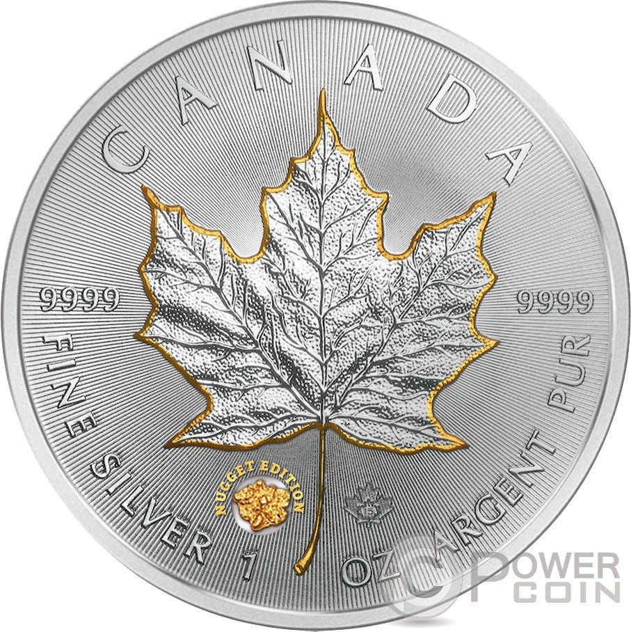 canada 2015 maple leaf gold nugget