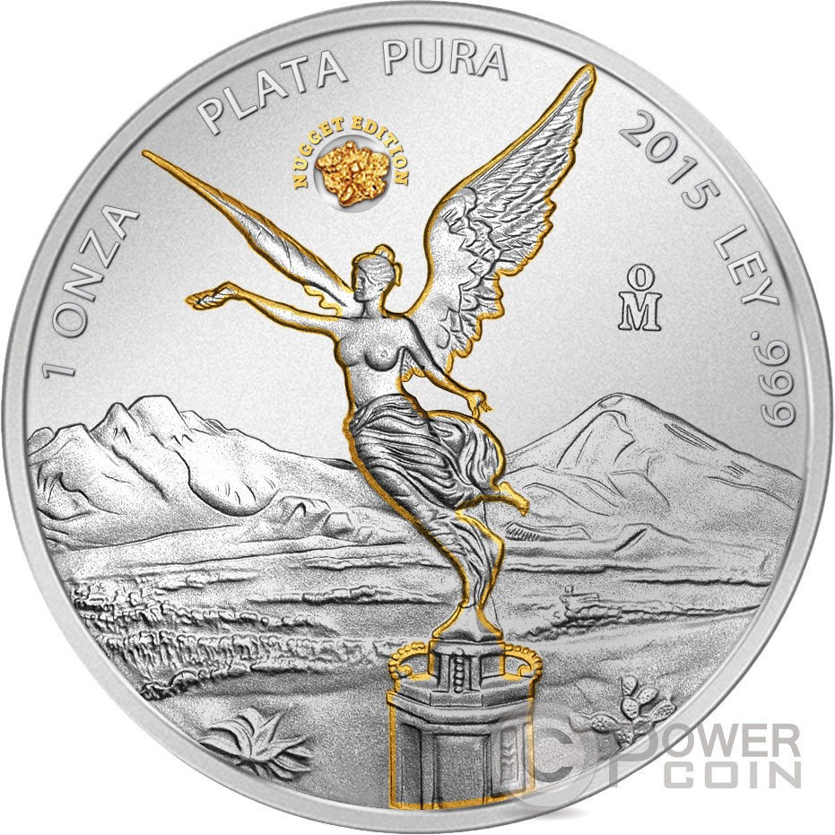 mexique 2015 libertad gold nugget