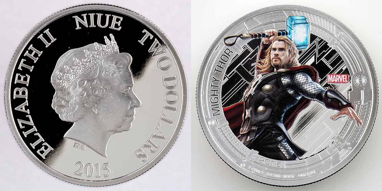 niue 2015 avengers thor