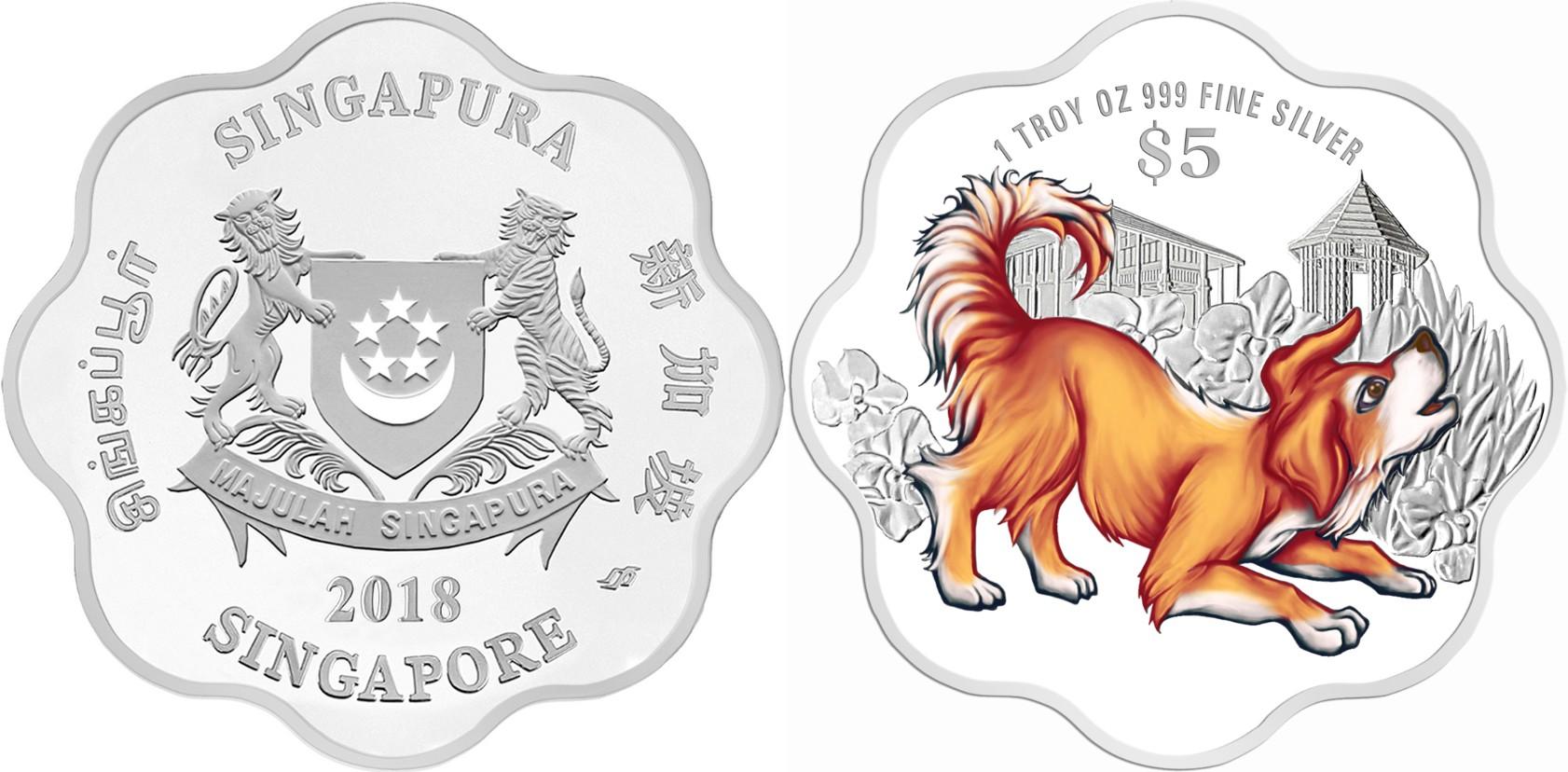 singapour 2018 chien flower