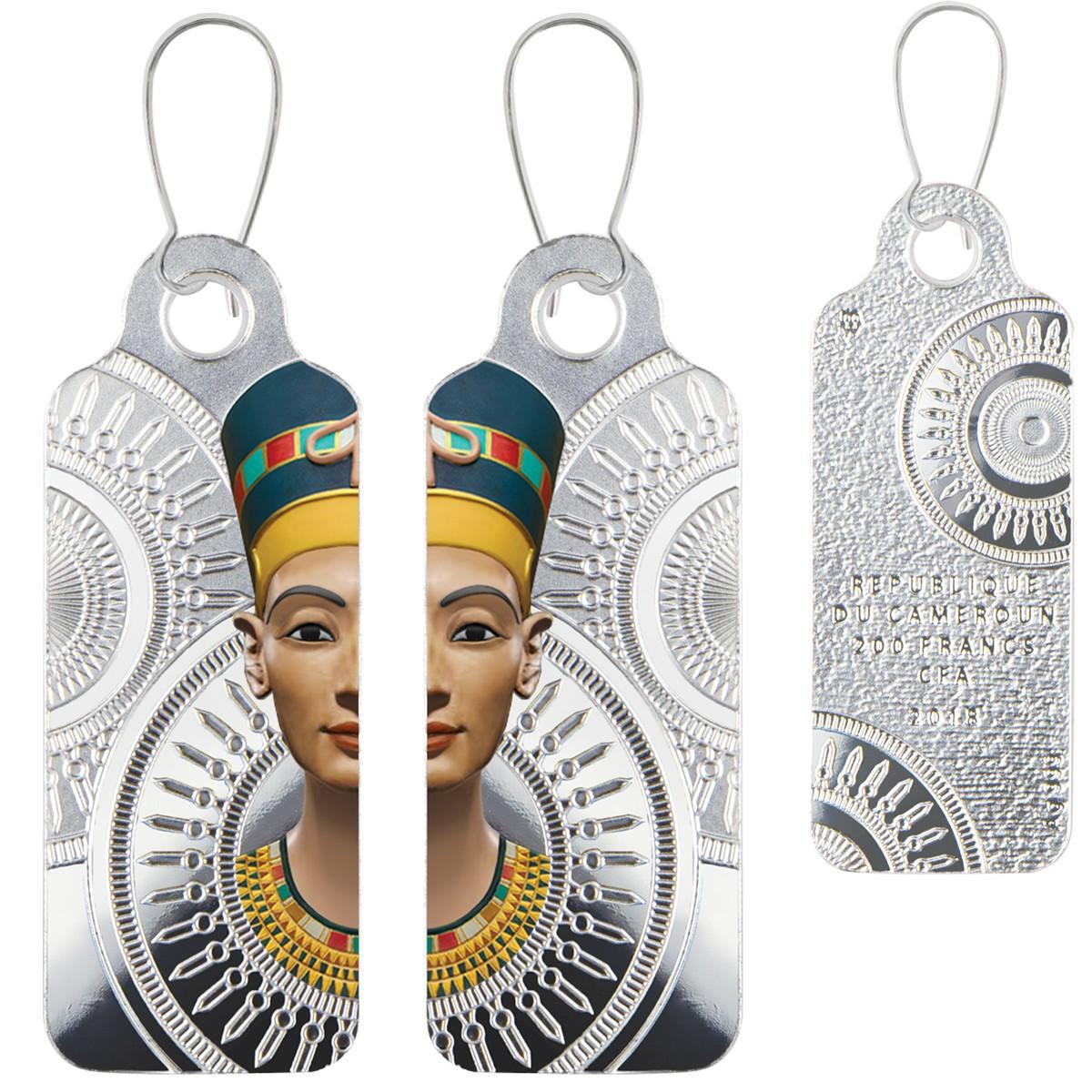 cameroun 2018 pendentifs nefertiti
