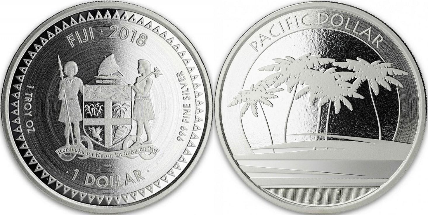 fidji 2018 dollar pacifique