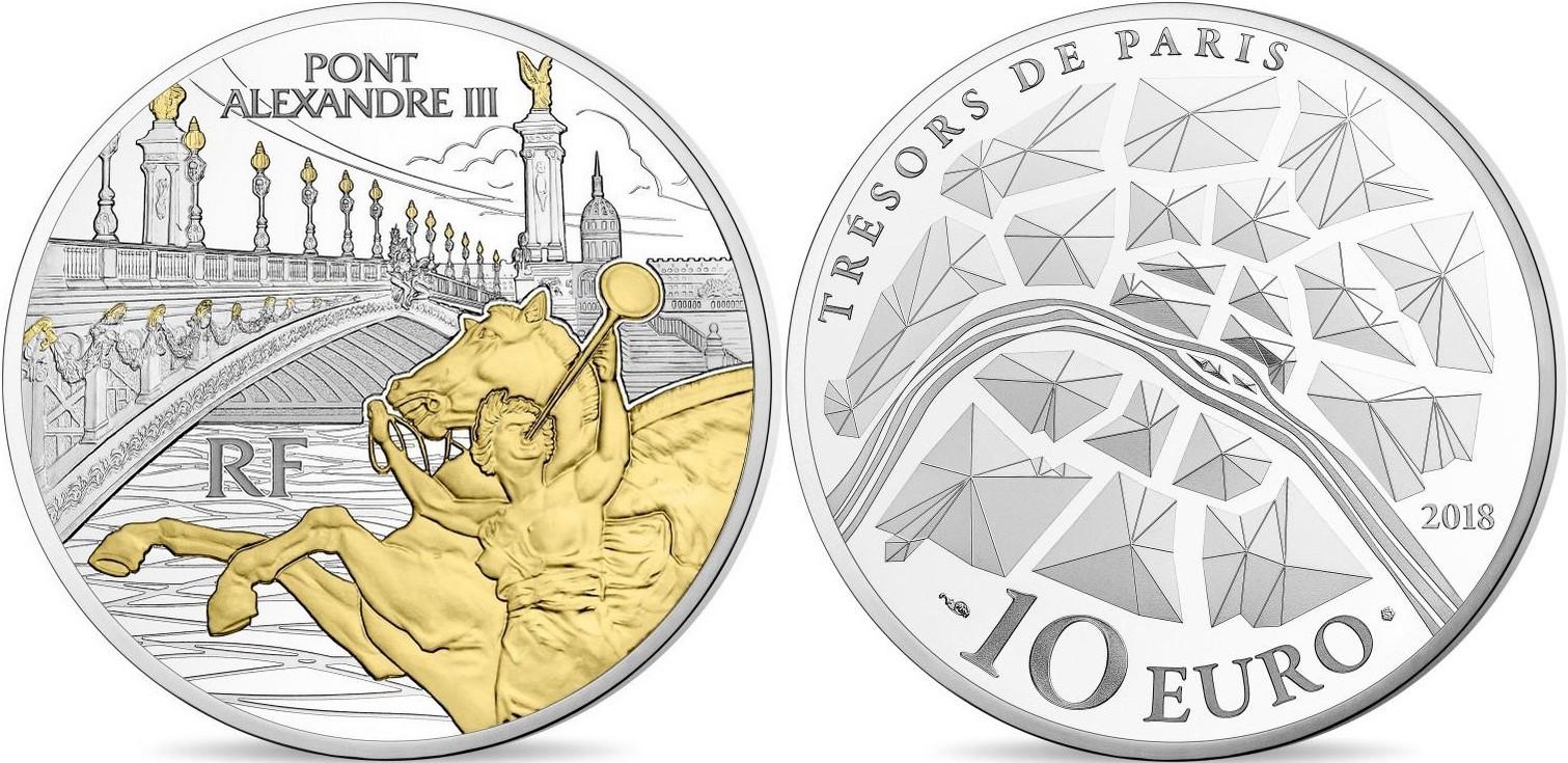 france 2018 pont alexandre III