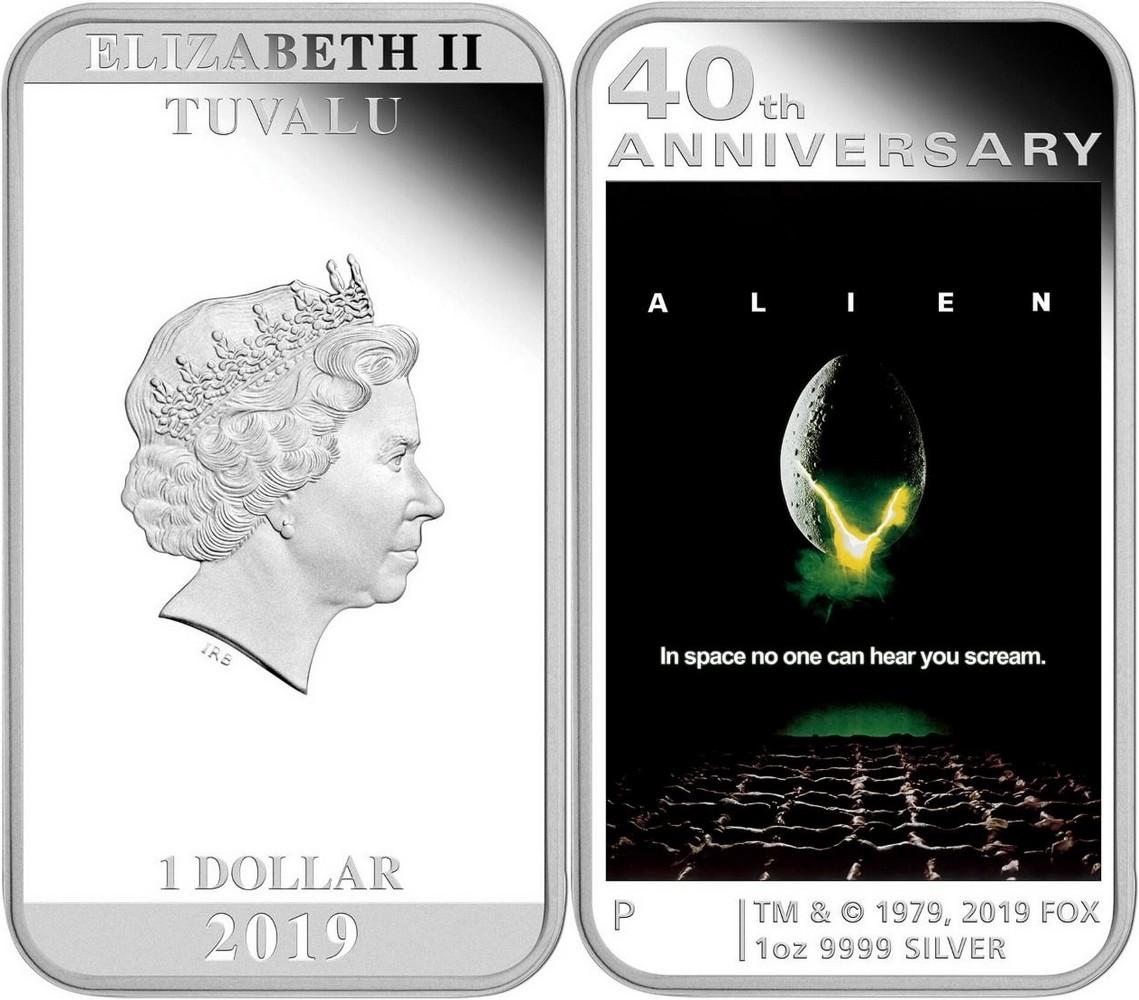 tuvalu 2019 40 ans d'alien