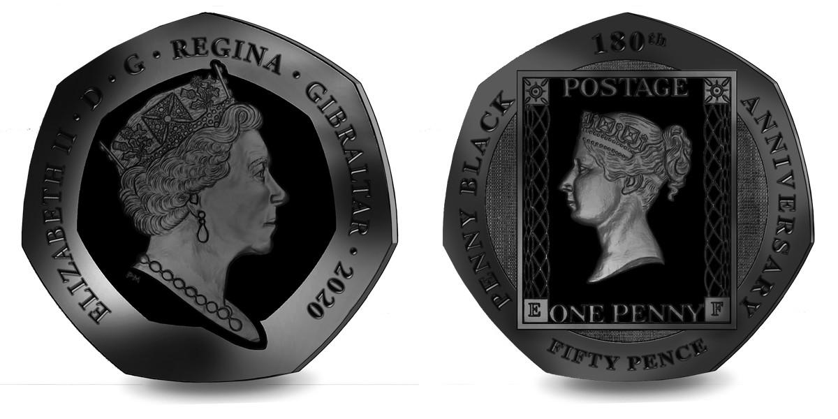 gibraltar-2020-180-ans-du-timbre-penny-noir