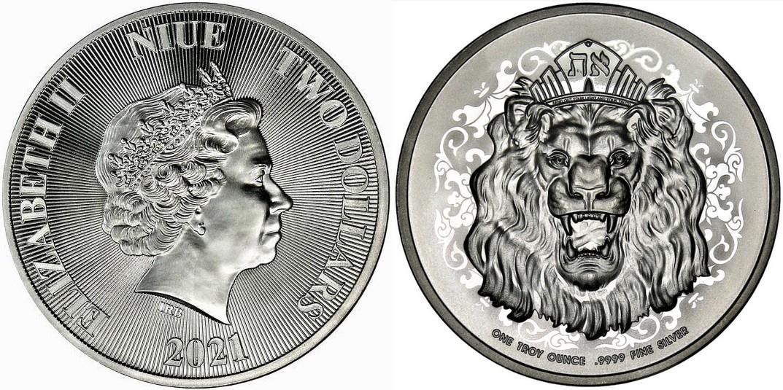 niue-2021-lion-rugissant-