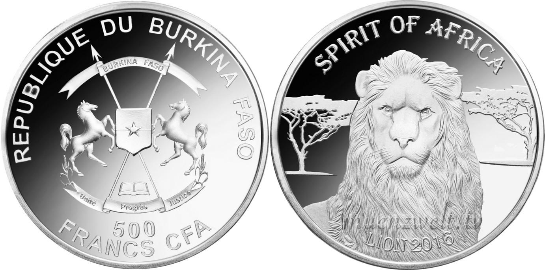 burkina faso 2016 esprit d'afrique lion