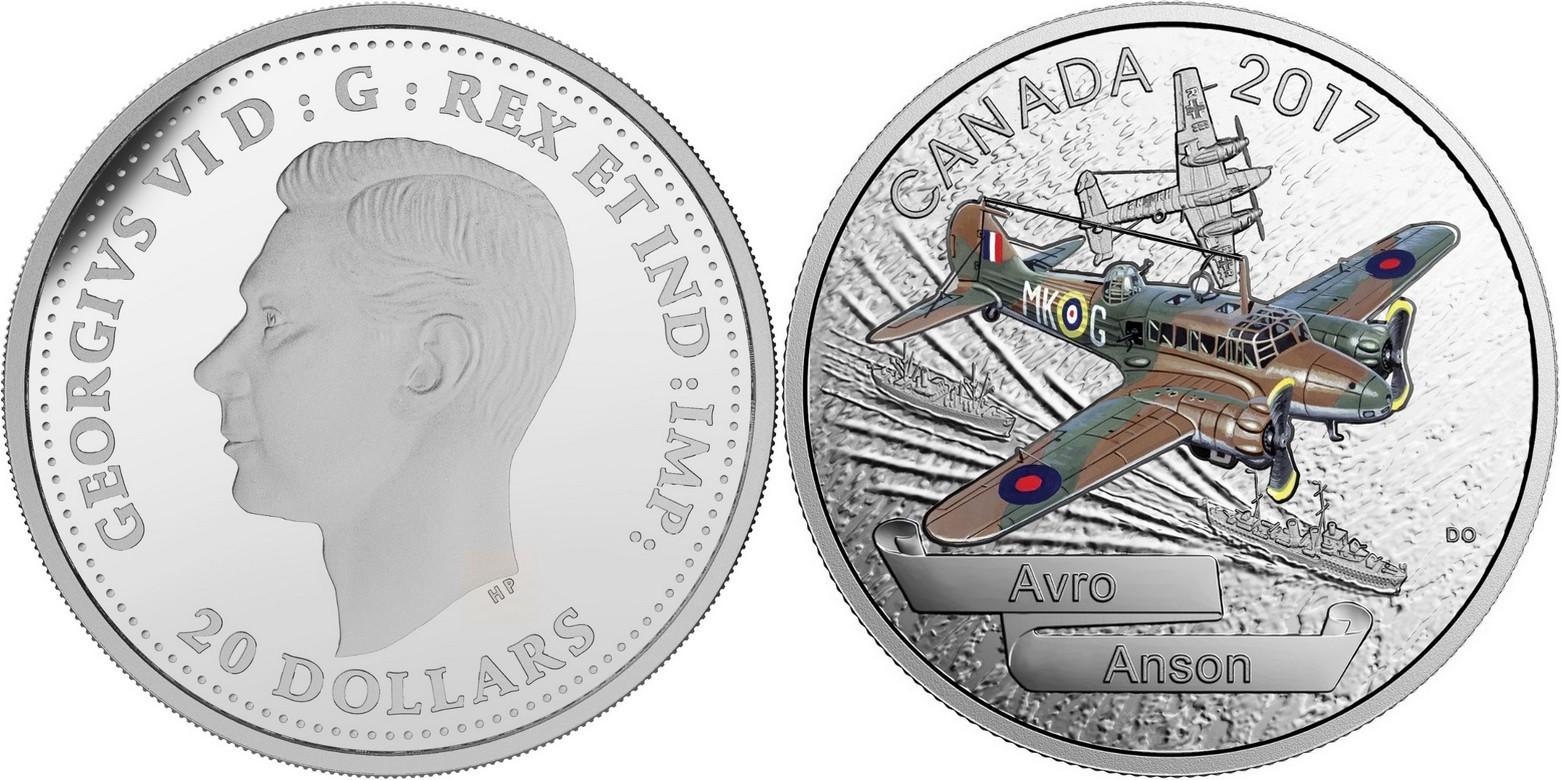 canada 2017 avions de la seconde guerre mondiale avro anson