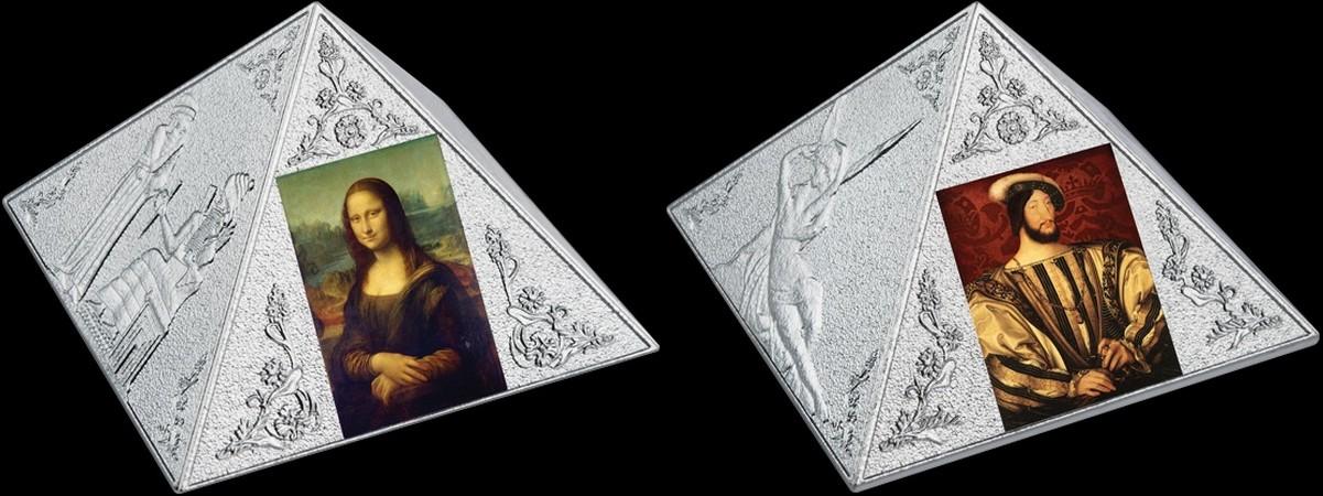 niue 2016 pyramide du louvre rev