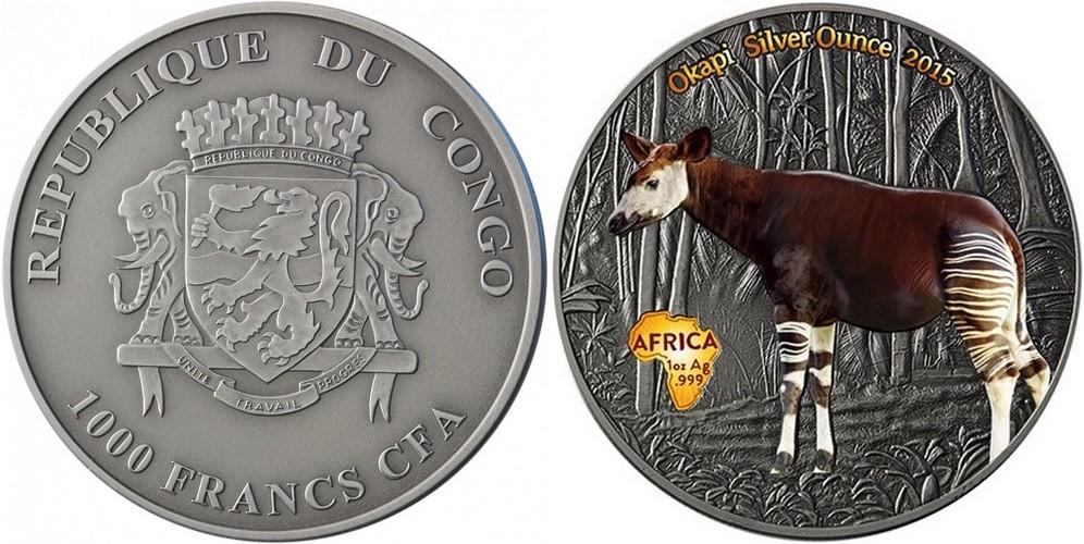 congo 2015 okapi couleur