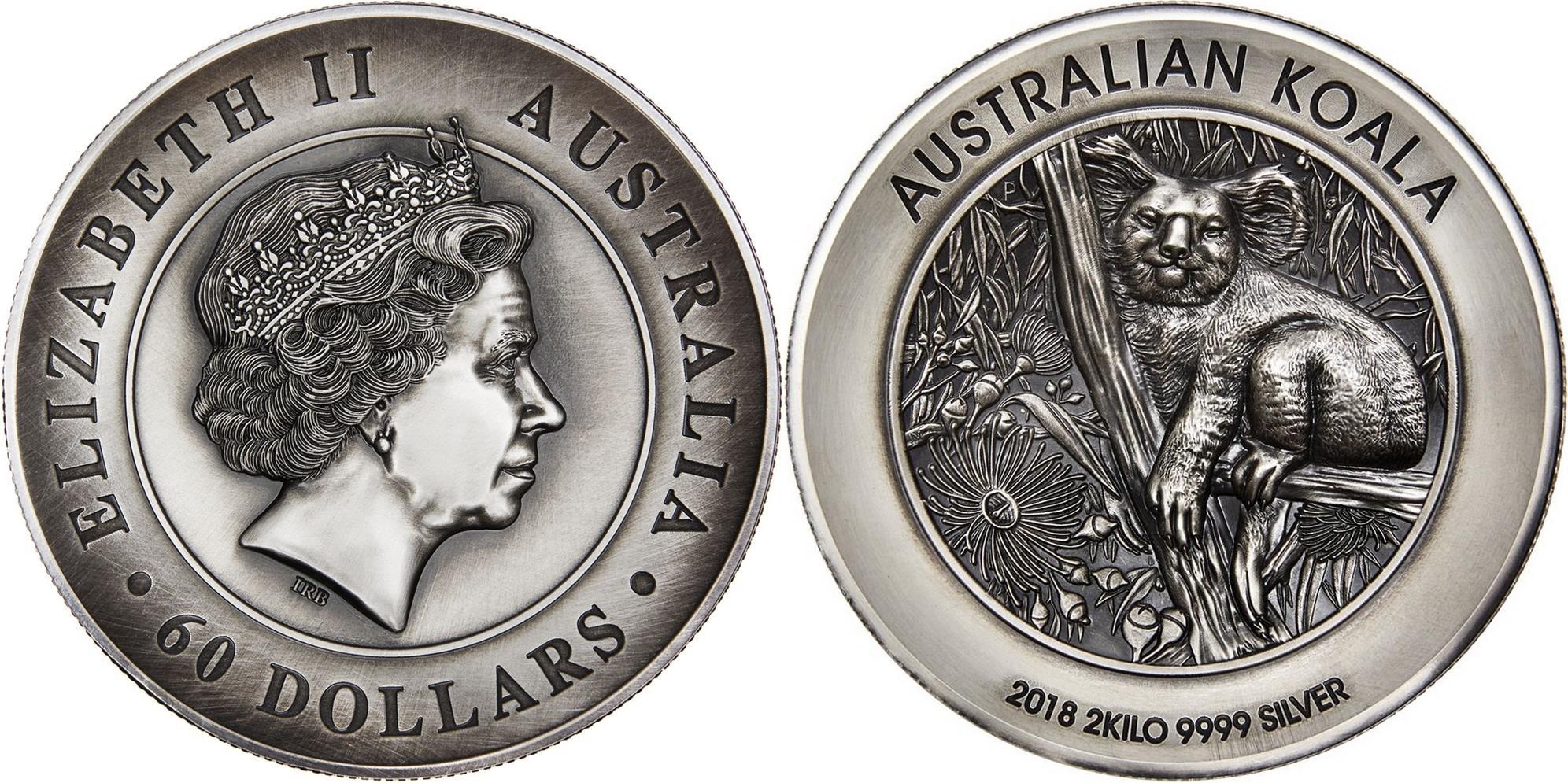 australie 2018 koala hr 2 kg