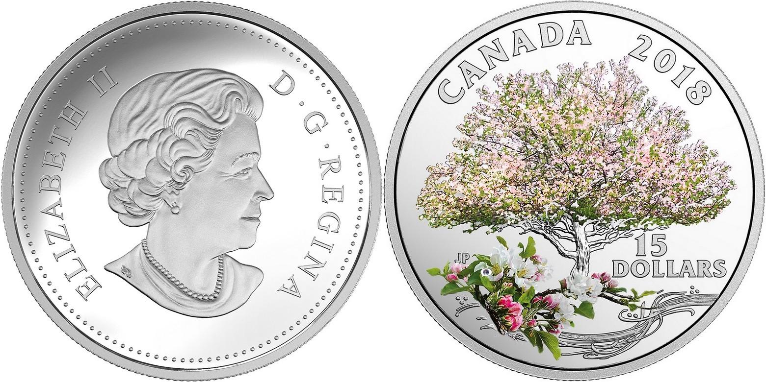 canada 2018 hymne au printemps pommier en fleurs