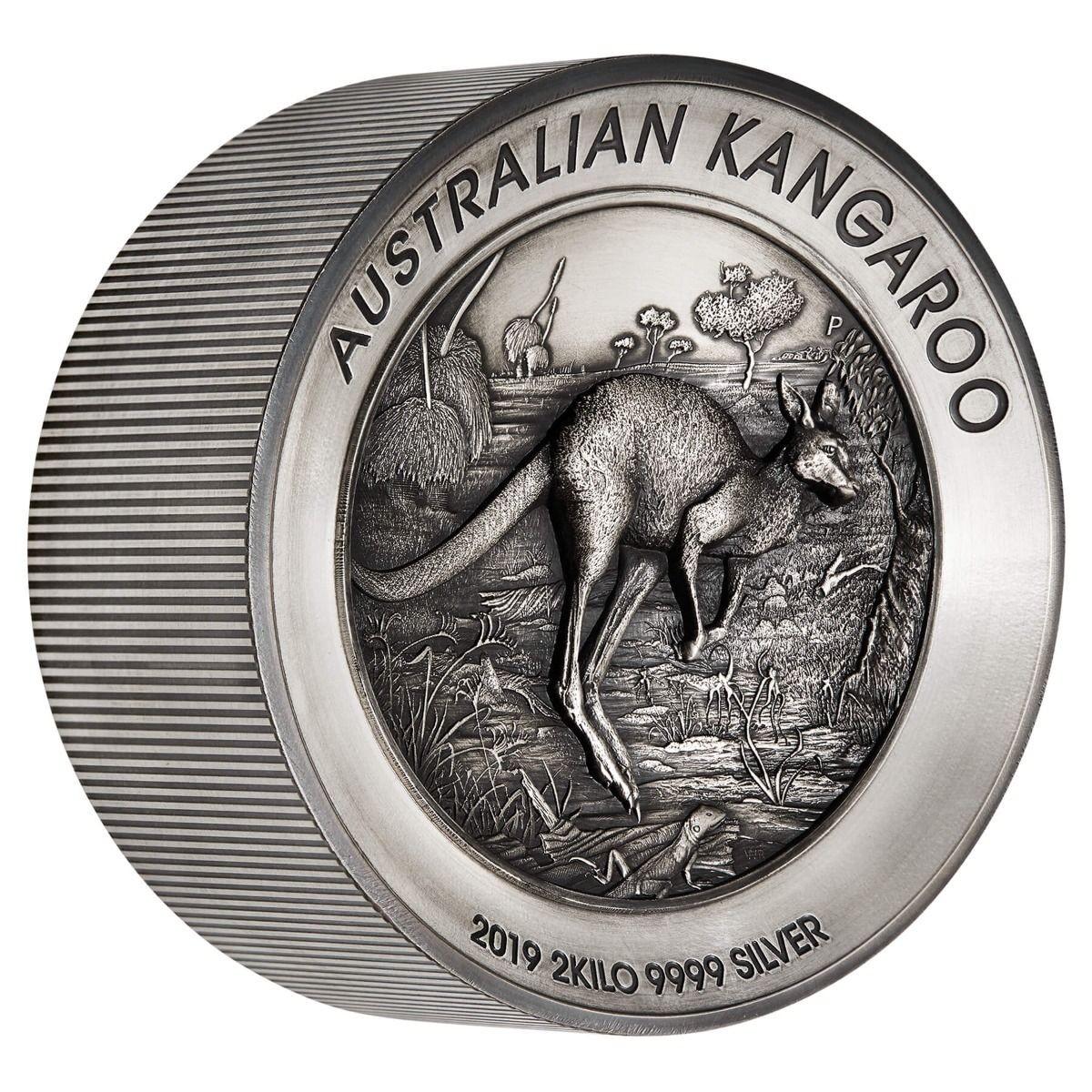australie 2019 kangourou 2 kg relief