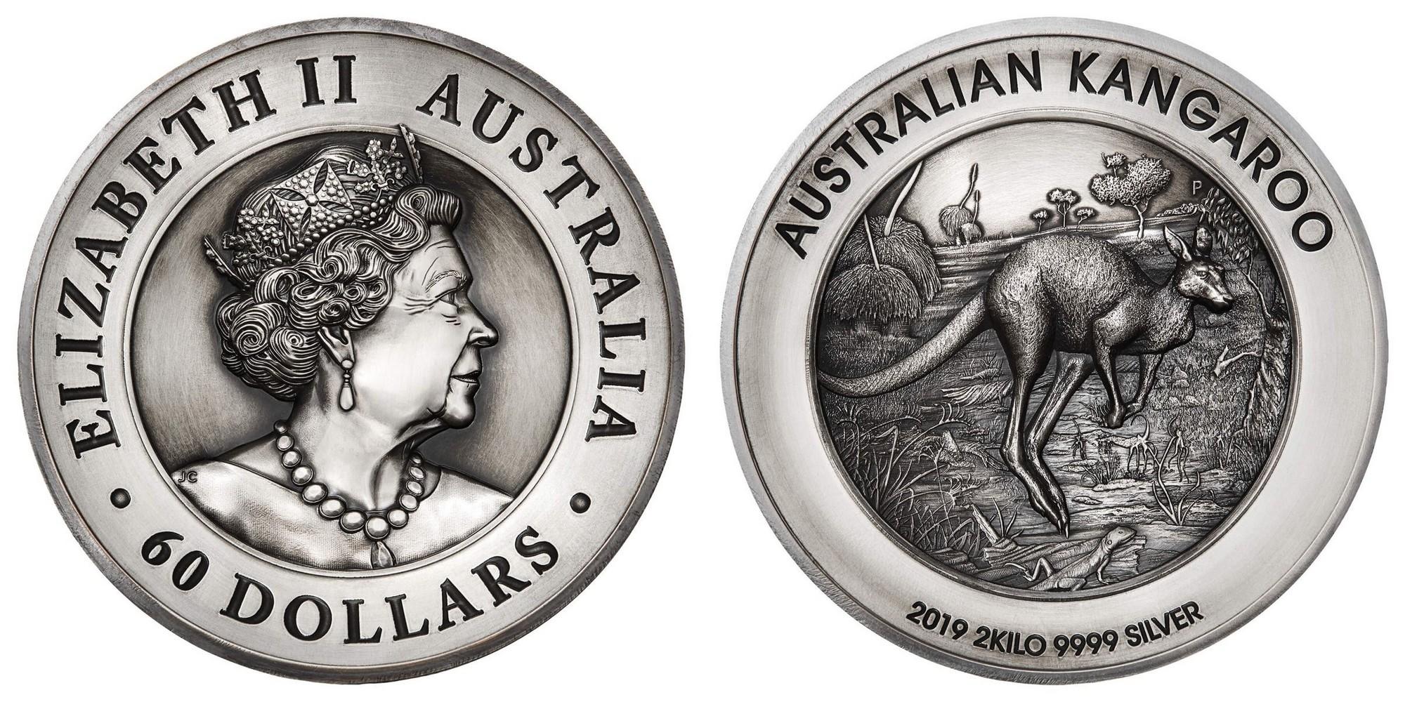 australie 2019 kangourou 2 kg