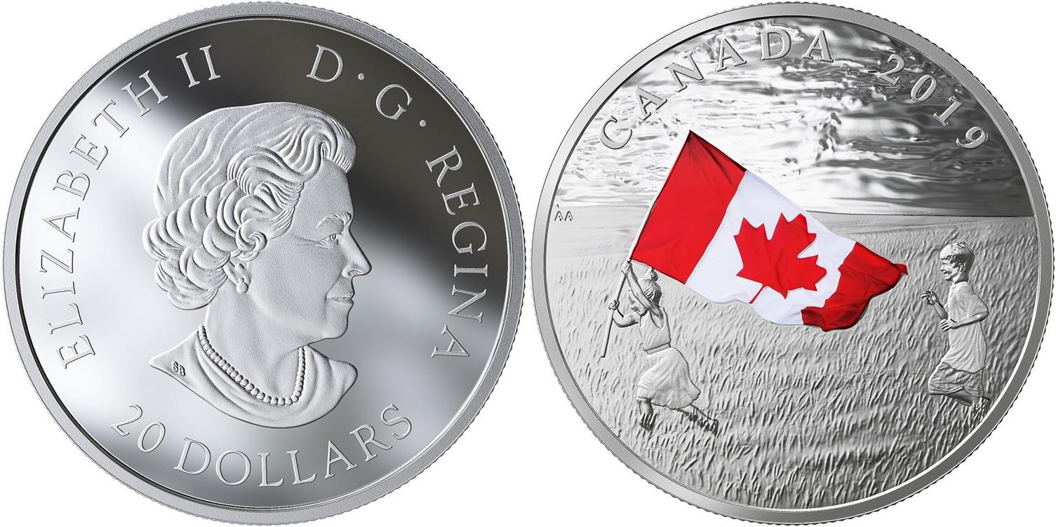 canada 2019 drapeau canadien