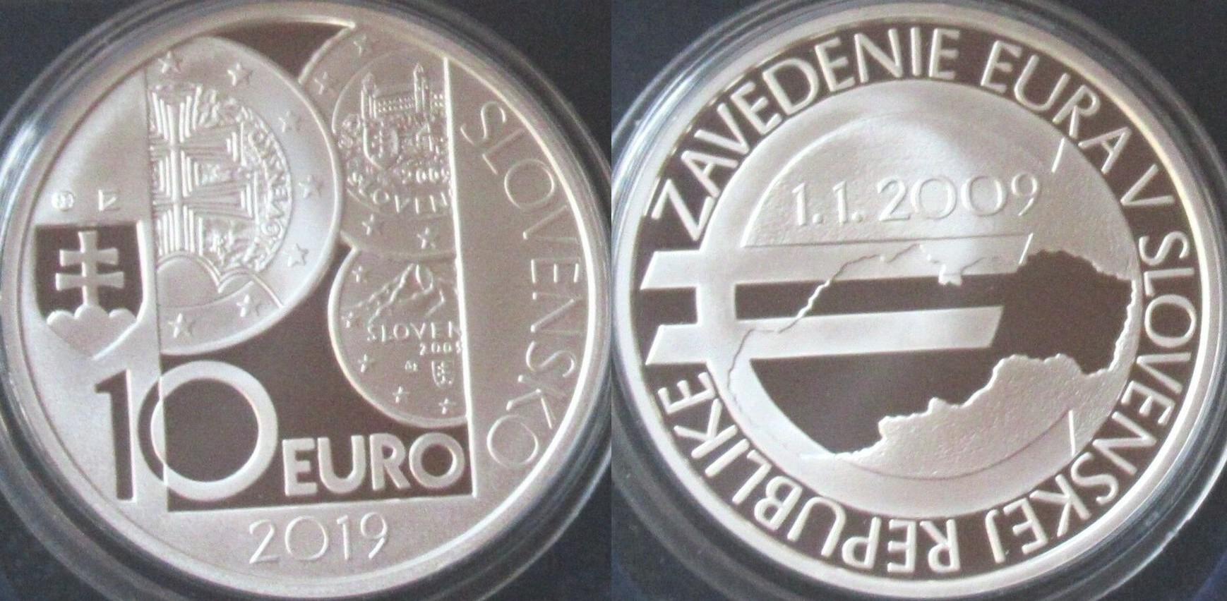 slovaquie 2019 10 ans de l'euro