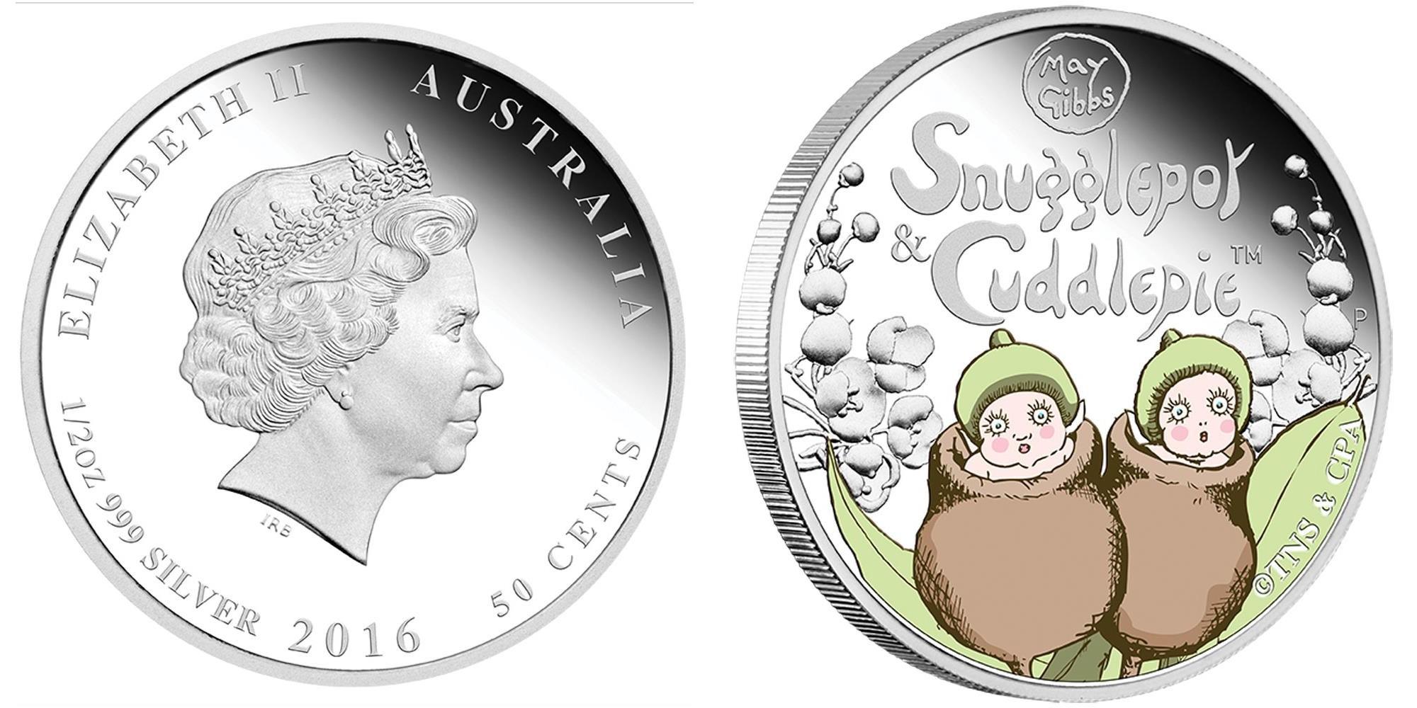 australie 2016 snugglepot & cuddlepie