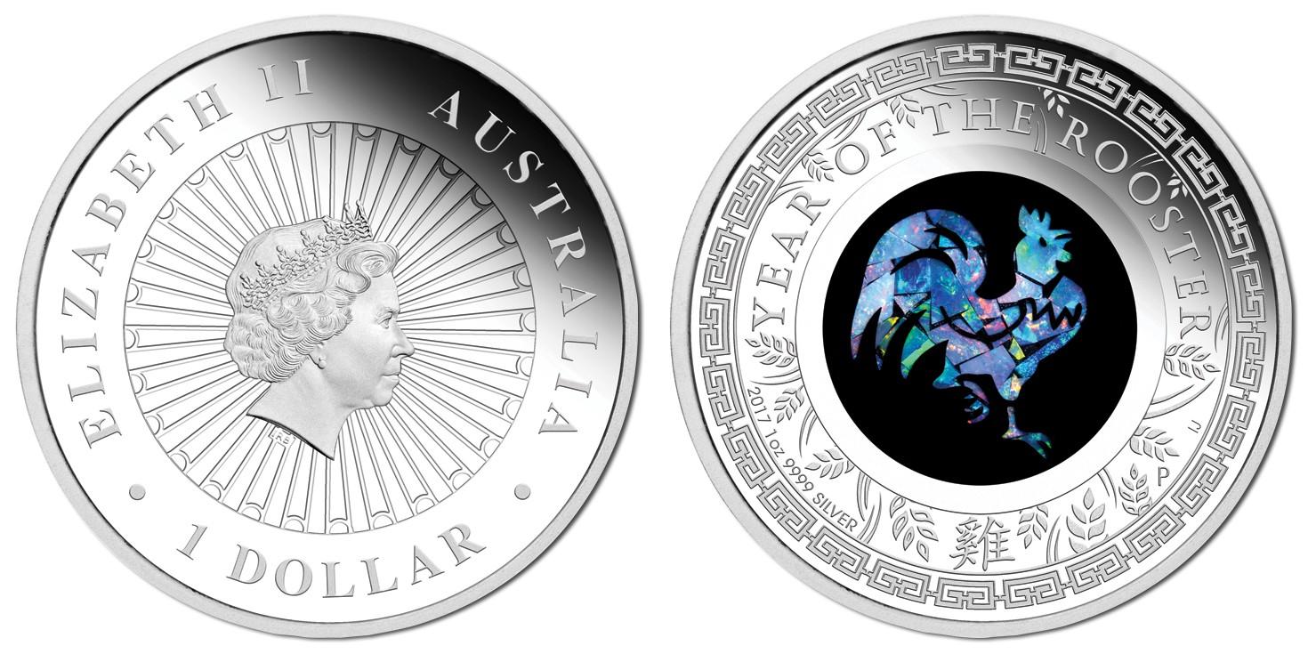 australie 2017 coq opale