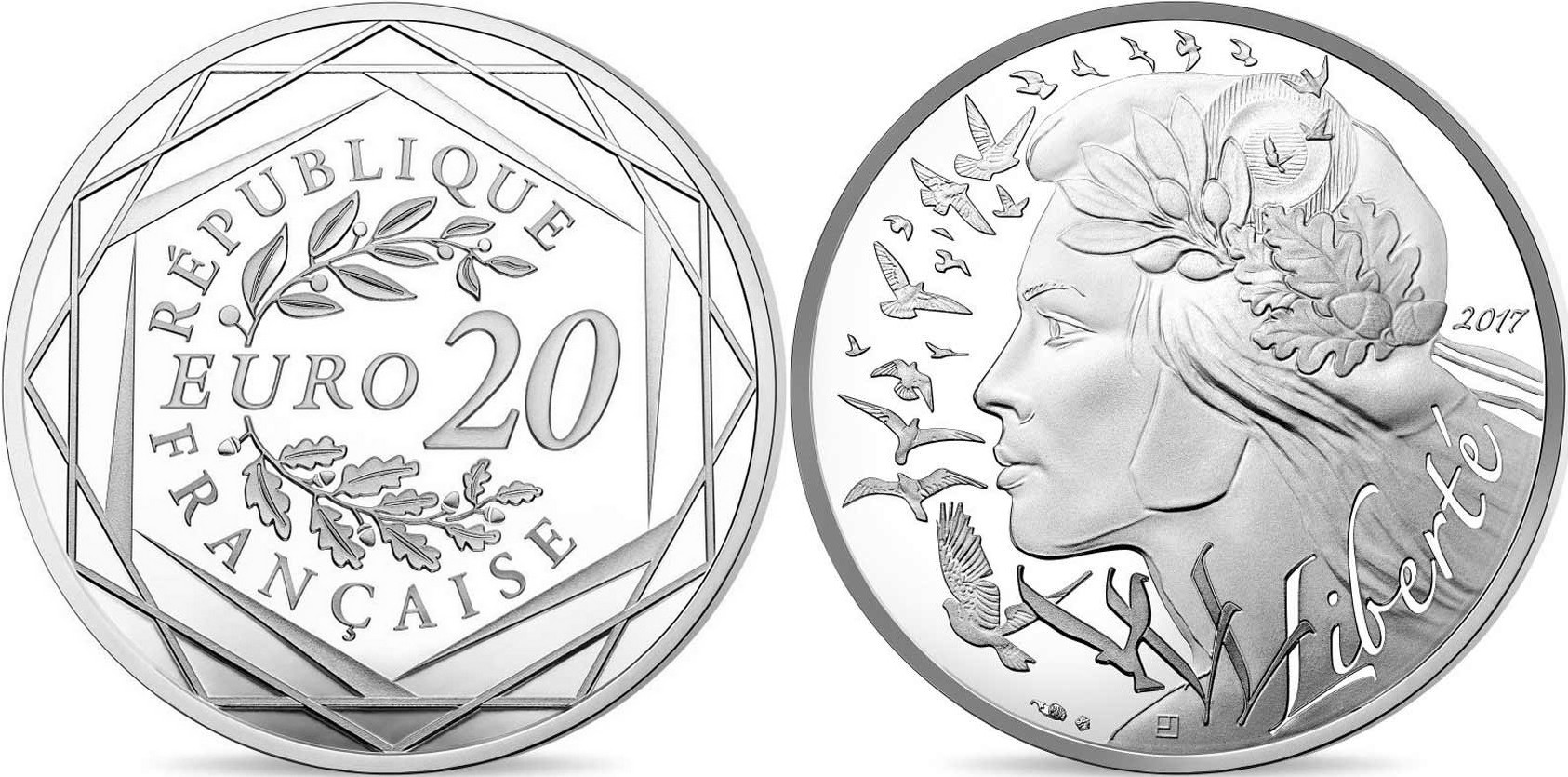 france 2017 semeuse 20 euro