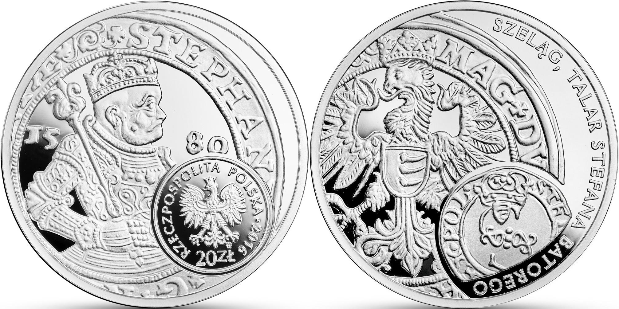 pologne 2016 histoire monnaie polonaise thaler du roi bathory
