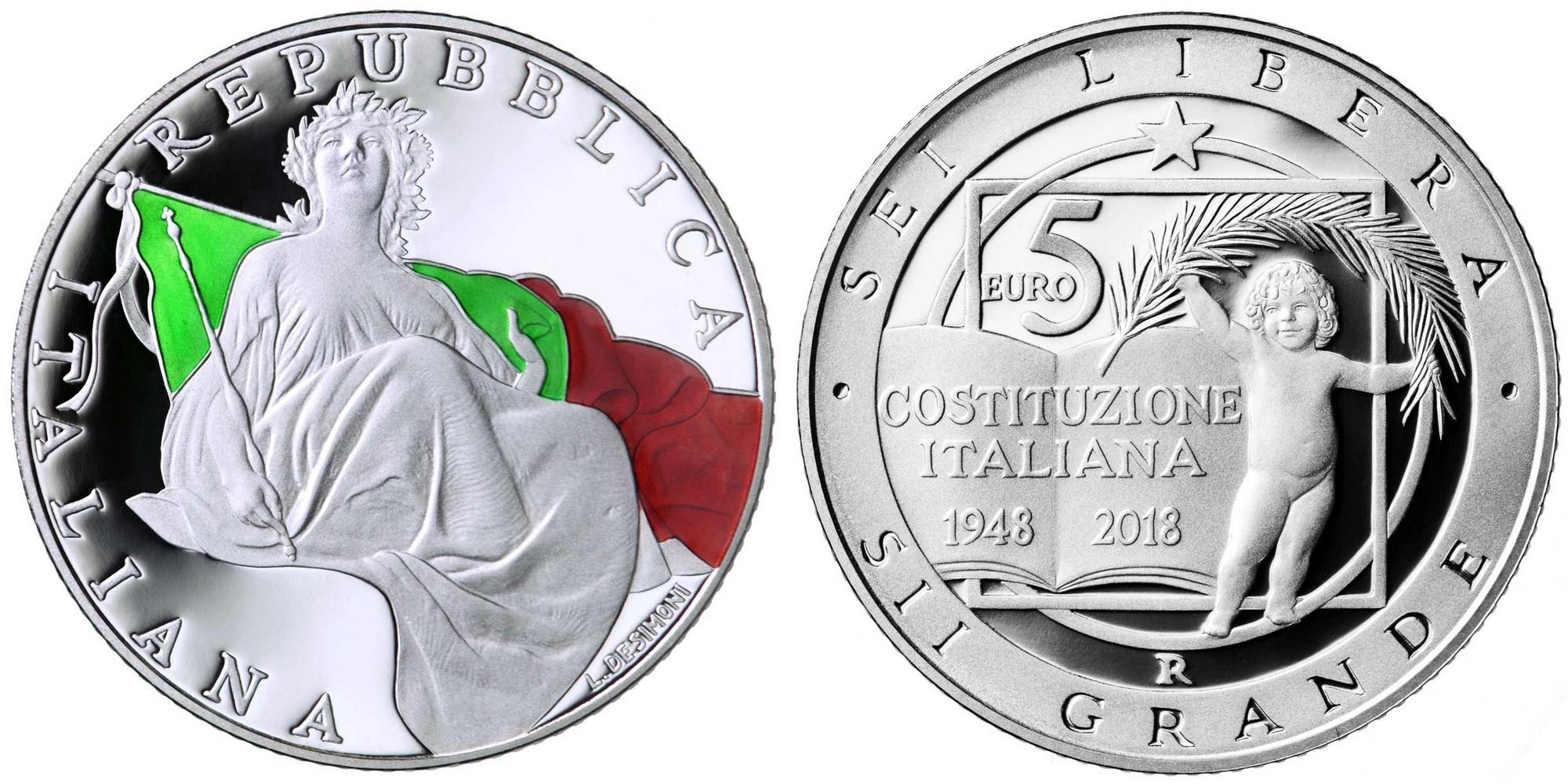 italie 2018 70 ans de la constitution