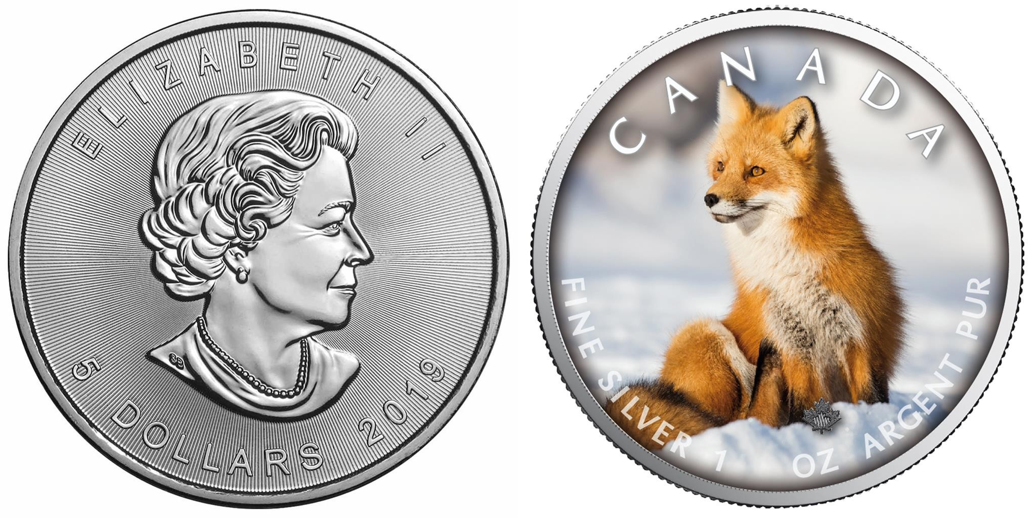 canada 2019 maple leaf renard
