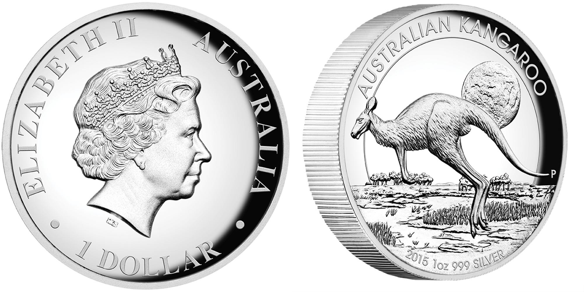 australie 2015 kangourou haut relief