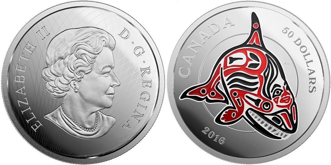 canada 2015 royaume des haidas orque