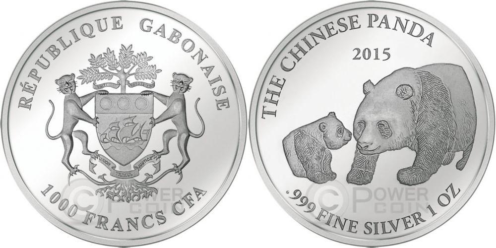 gabon 2015 panda chinois