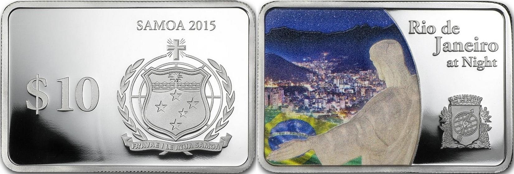 samoa 2015 villes la nuit rio