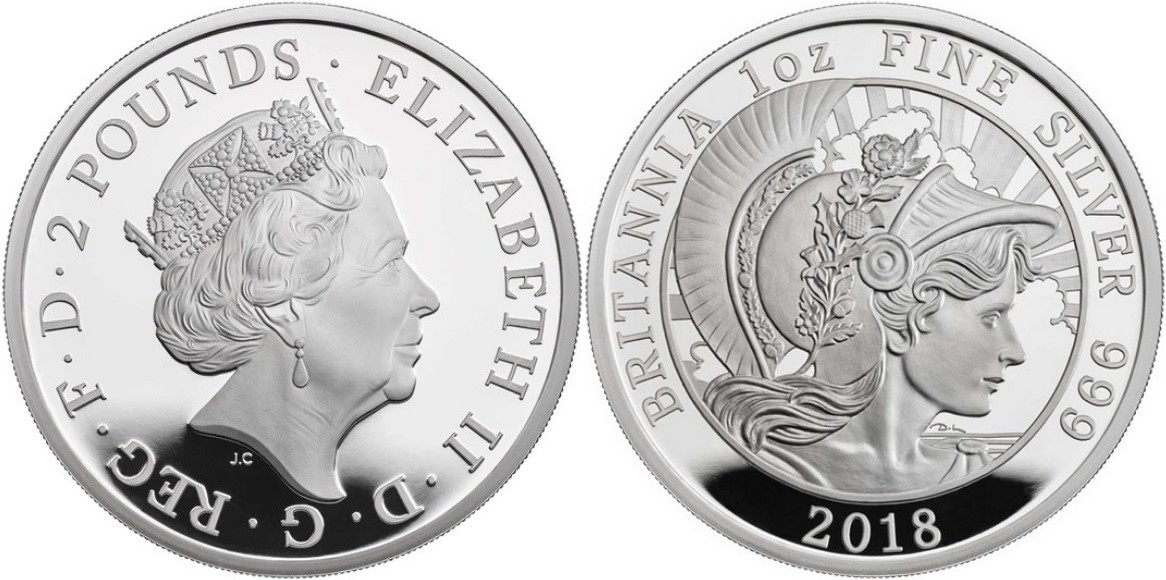 angleterre 2018 britannia proof 1 oz