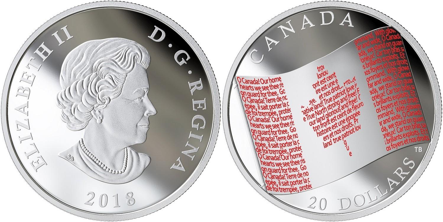 canada 2018 drapeau canadien