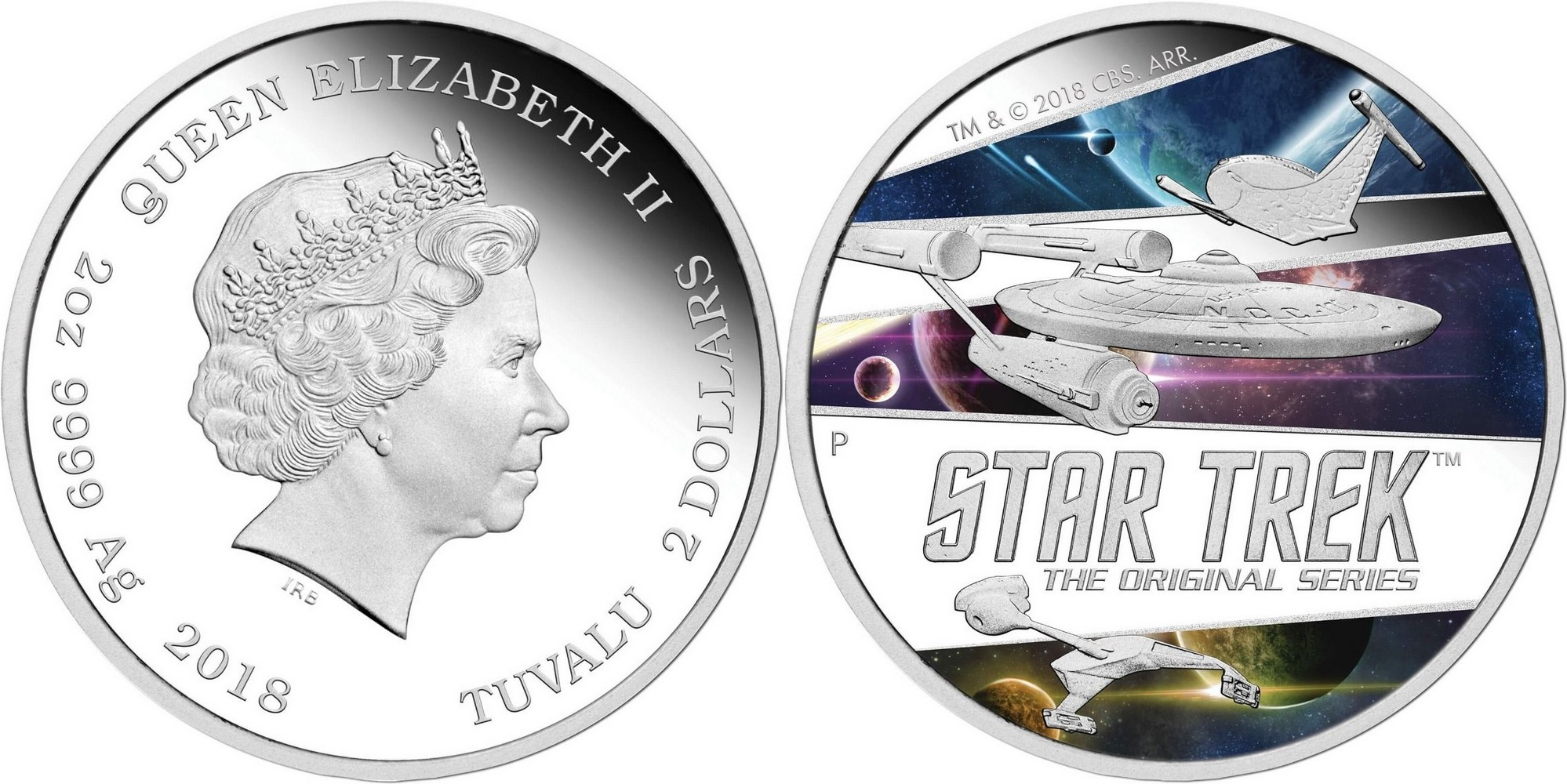 tuvalu 2018 star trek la série originale 2 oz
