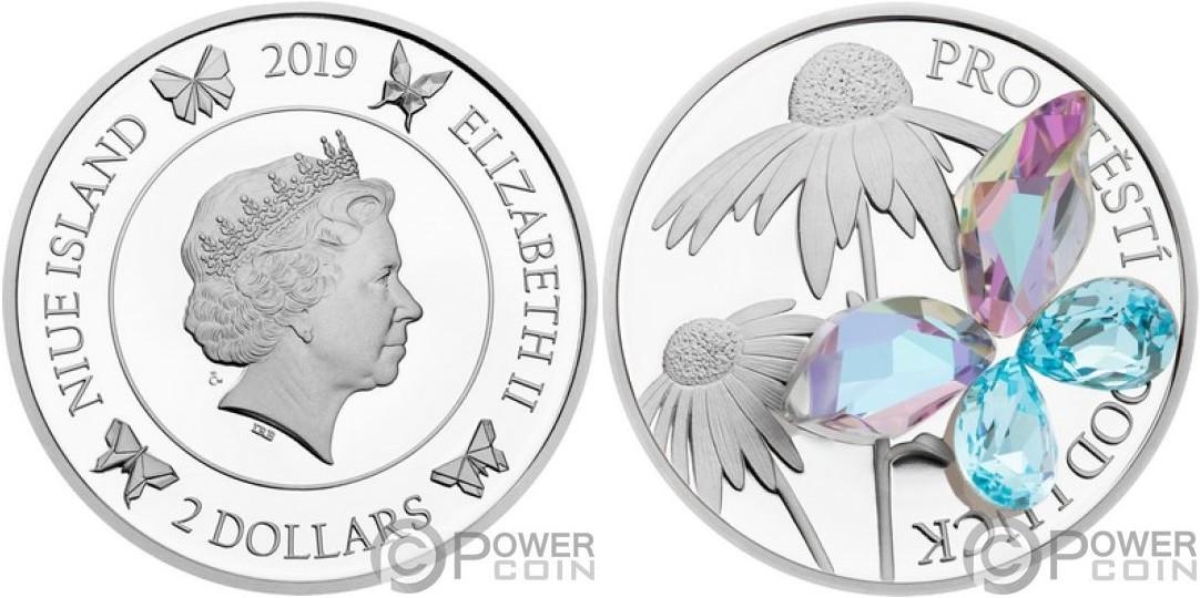 niue-2019-bonne-chance-papillon-cristal