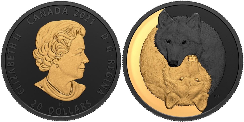 canada-2021-noir-et-or-loup-gris
